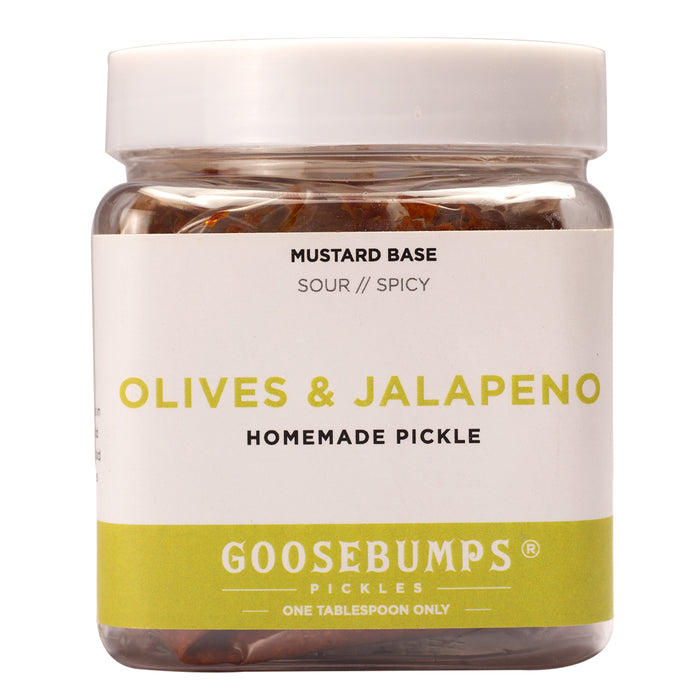 Olives and Jalapenos Pickle