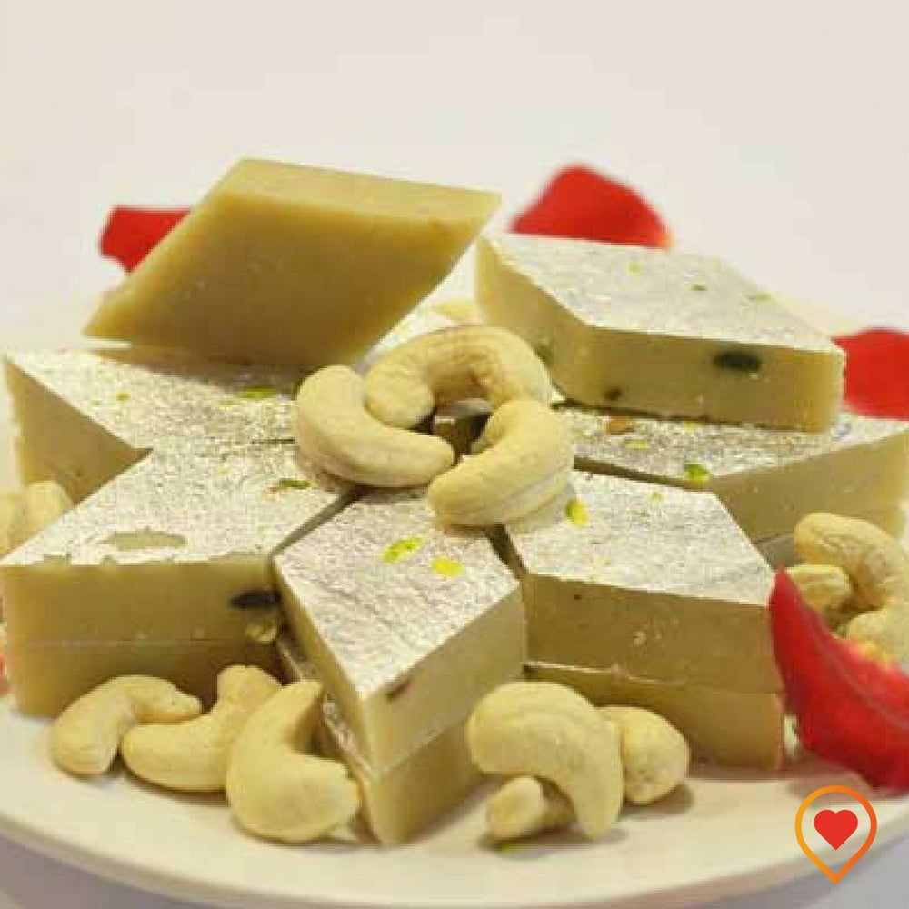 Cashew burfi is the dessert from Indian subcontinent, it is the most delicious dessert to enlighten any occasion
