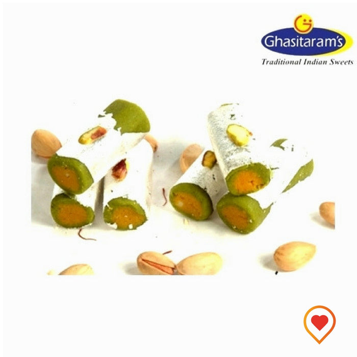 Presenting one of the most soft sweet of India enriched with cashews and pistachios