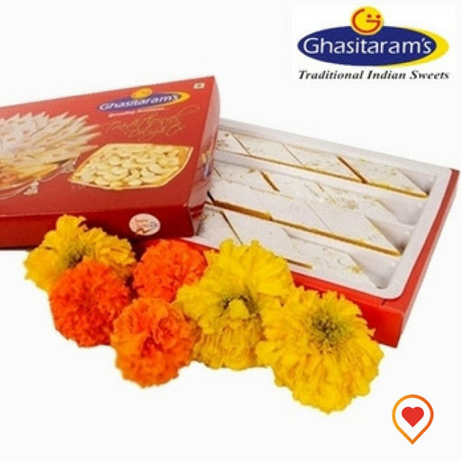 Kesar Kaju katli is one that includes saffron and is more exotic and rich, a more richer version of Kaju Katli