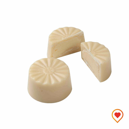 white Chocolate filled soft lemon flavored truffle - foodwalas.com