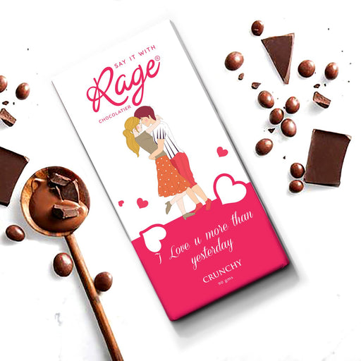 I Love you More Than Yesterday Signature Blend Chocolate Bar