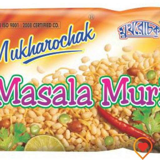 Muri or puffed rice is a very well know indian street side snack.Quality puffed rice with ground nut oils,shew & blend it with various kind of selected spices-to give it a spicy flavour of its own.