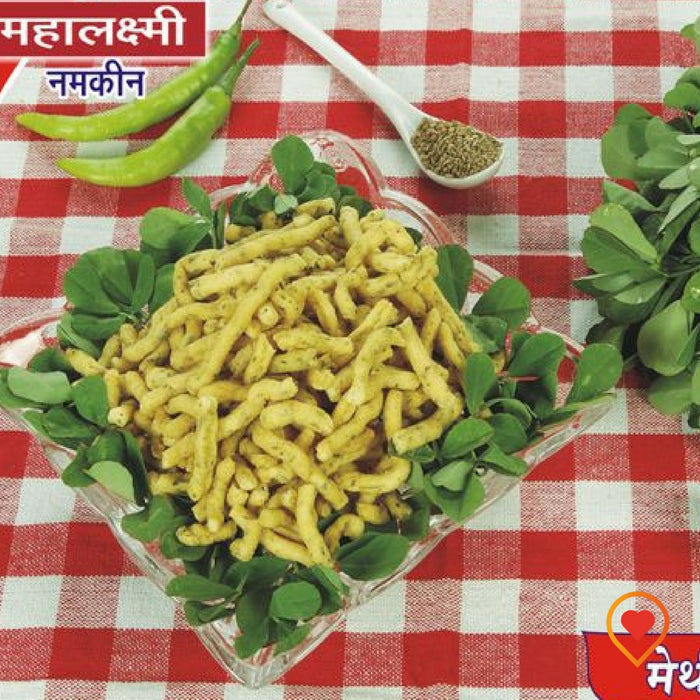 Methi Gathiya by Mahalaxmi Sweets, Jalgaon