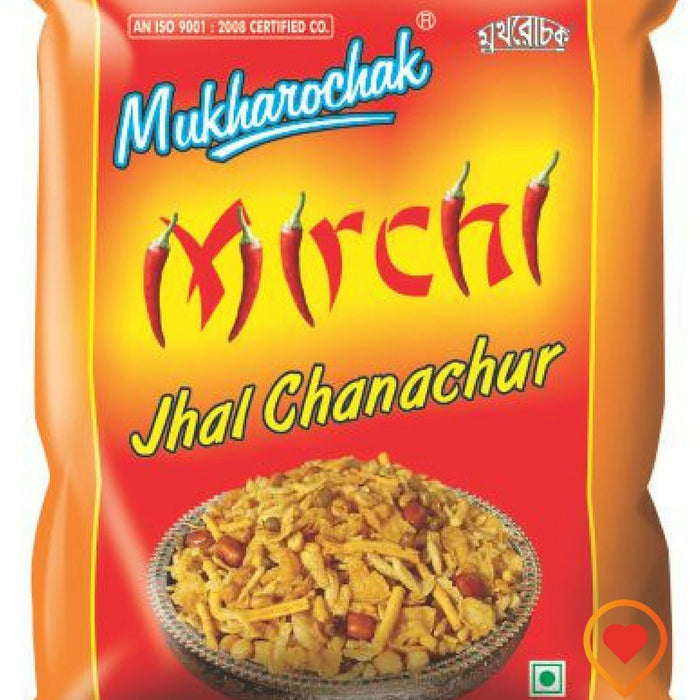 Chanachur/Mixture.hot and spicy flavour that will put your tongue on fire. Blended with selected spices & black pepper to give it an unique hot flavour