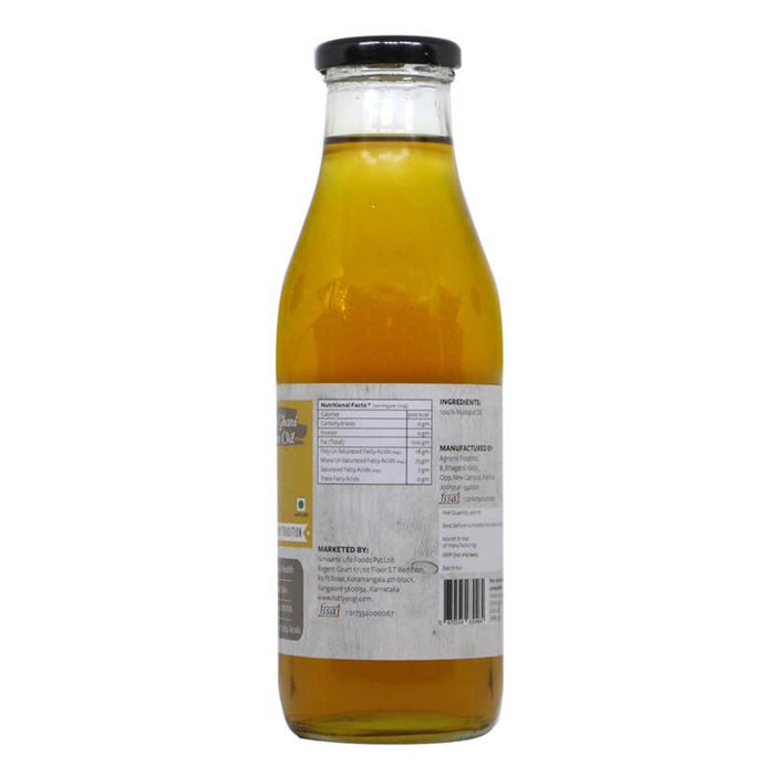 Organic Cold Pressed Mustard Oil