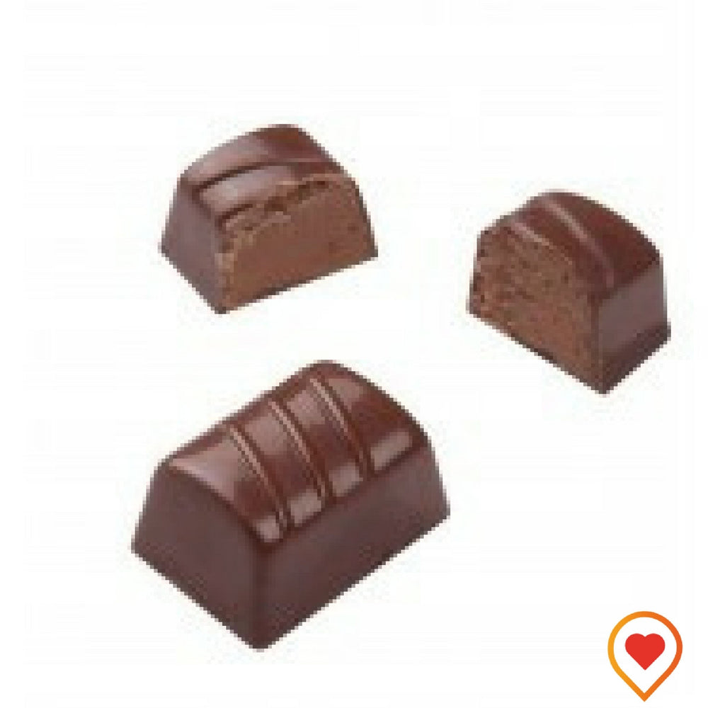 Soft milk ganache blended with hint of orange flavour - foodwalas.com