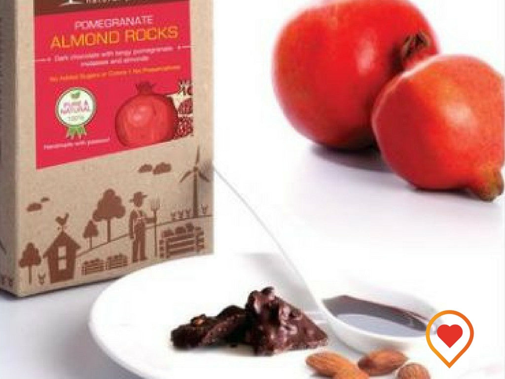 POMEGRANATE ALMOND ROCKS - Foodwalas.com