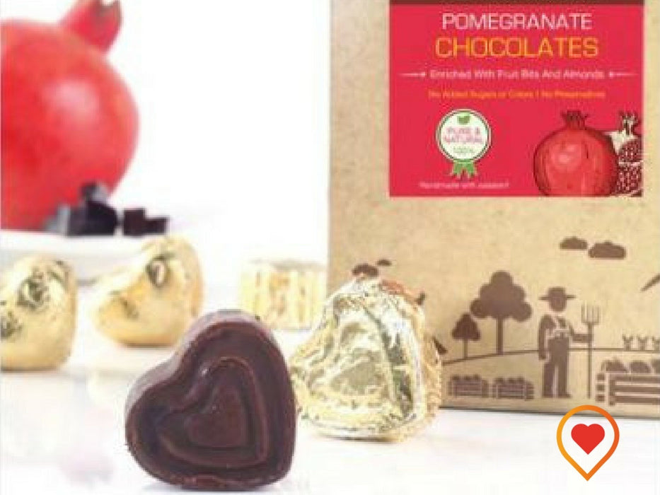 POMEGRANATE CHOCOLATE - foodwalas.com