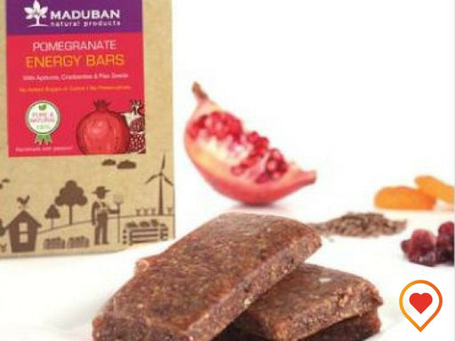 POMEGRANATE ENERGY BARS - SUGAR FREE   - Foodwalas.com