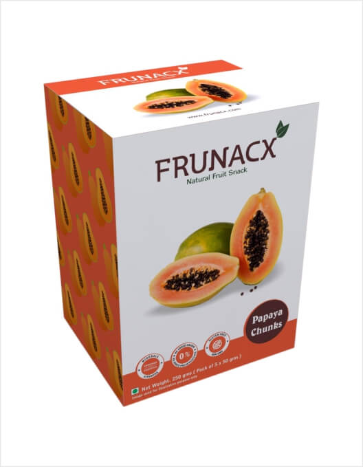 Papaya Chunks (Pack of 5*50Gms)