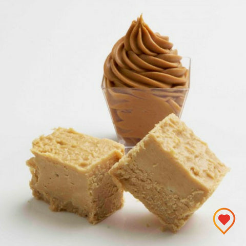 A soft creamy preparation made of sugar, butter ,milk Chocolate and peanut butter - foodwalas.com