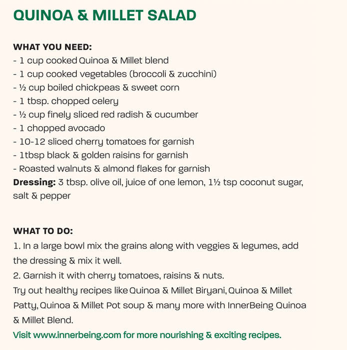 Quinoa and Millet blend