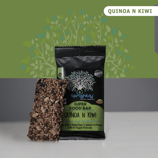 Quinoa And Kiwi  Bar