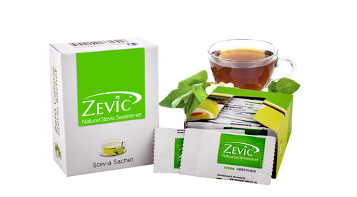 Zevic Stevia Sachets - Sugarfree