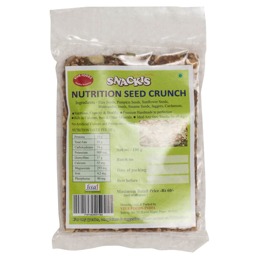 Nutrition Seed Crunch
