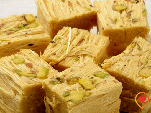 The special Banarasi Soan papdi high in protiens