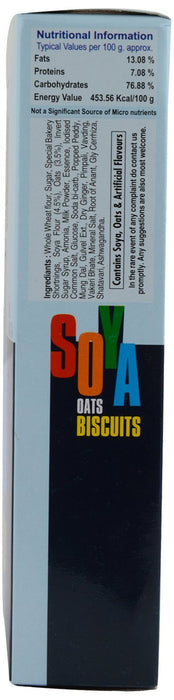 Soya Oats Biscuits (150 g, Pack of 3) Jahagirdar Bakers, Buy Online from Foodwalas.com