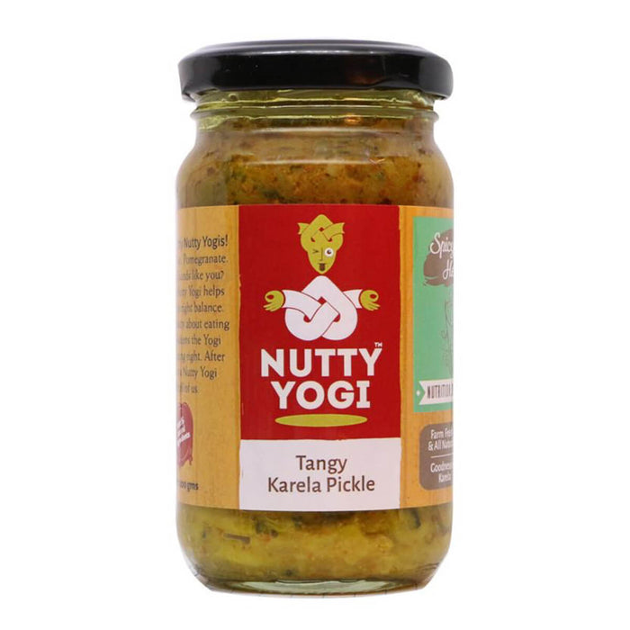 Tangy Karela Pickle