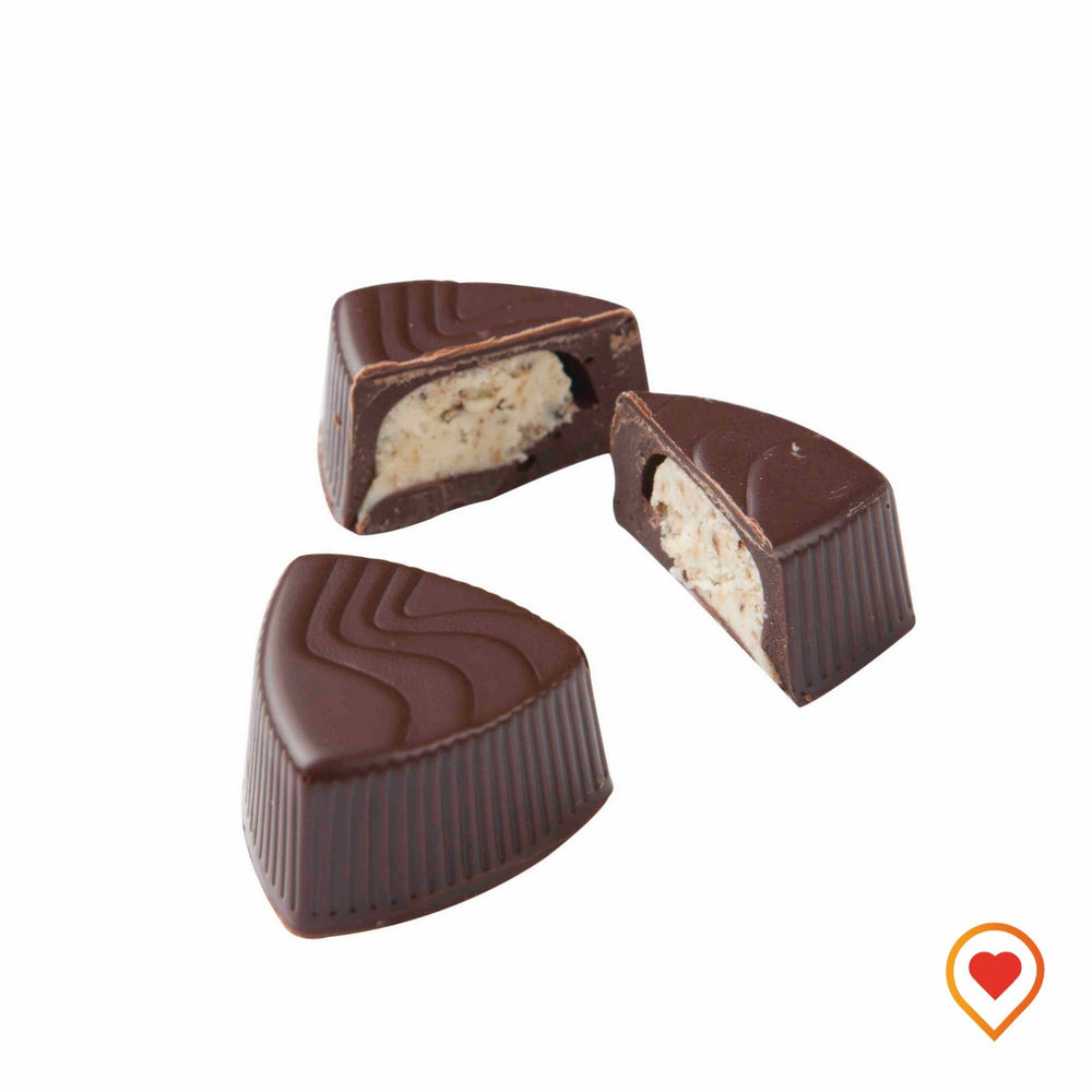 Velvety smooth truffle made with italian coffe and cream cheese filled in a Chocolate shell - foodwalas.com