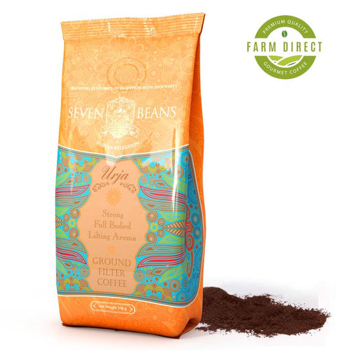 """Urja"" Ground Coffee Beans - Medium Roast"