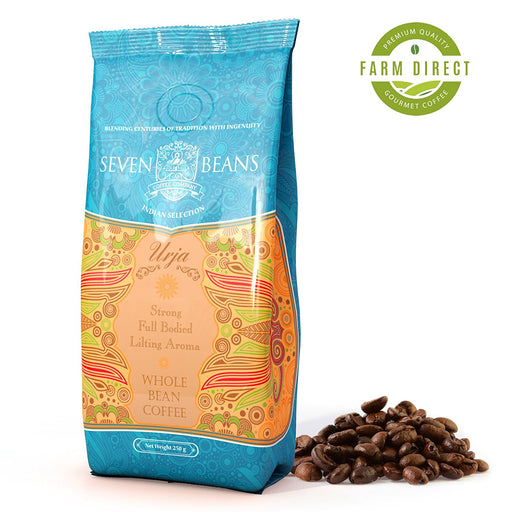"""Urja"" Whole Bean Coffee - Medium Roast"