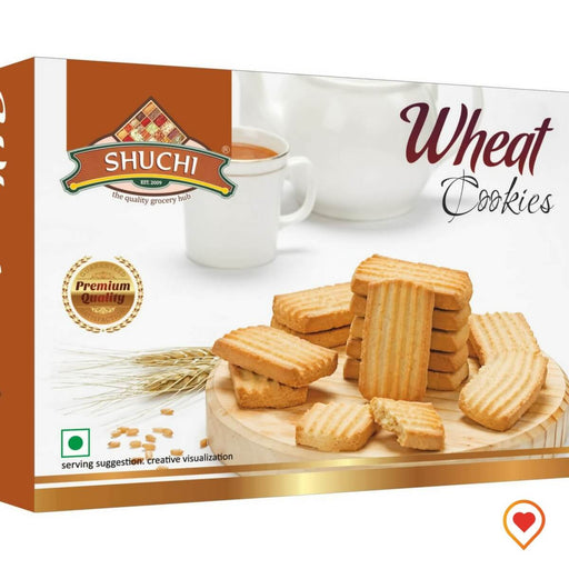 Wheat Cookies-(200 g, Pack of 2)