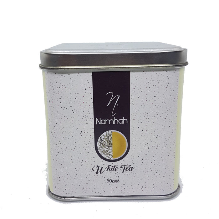 White Tea | Premium Tea Tin Box