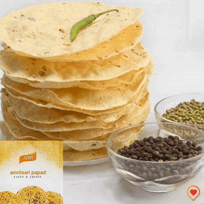 JAGS Amritsari Papad Medium