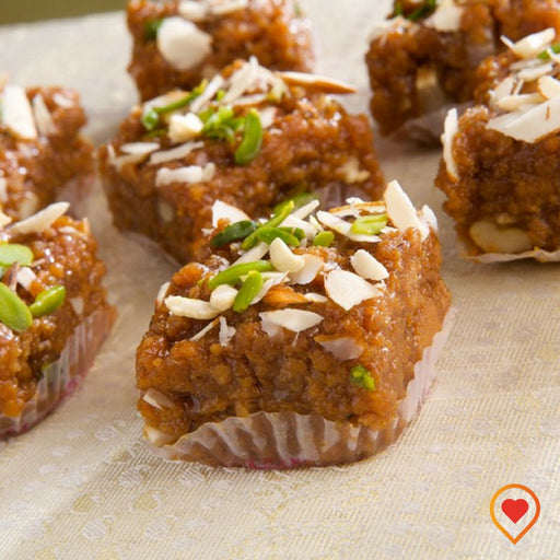 Health freaks will love this, combination of all vitamins and minerals enriched with dryfruits in this special mithai made for you