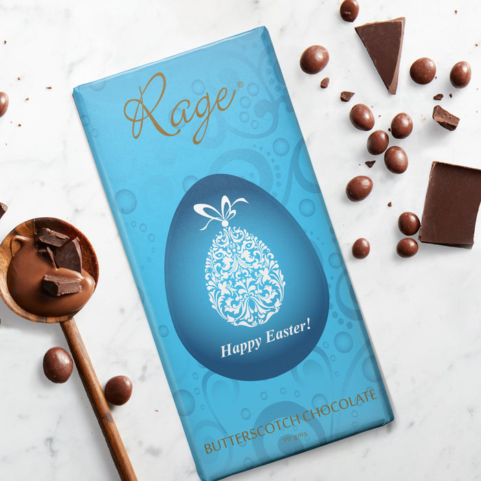 Happy Easter – Butterscotch Chocolate Bar