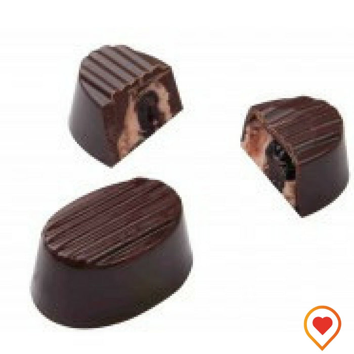Californian Cranberry made in to rich ganache blended in dark Chocolate -foodwalas.com