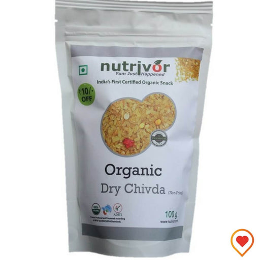 Organic Dry Chivda-(Non Fried)