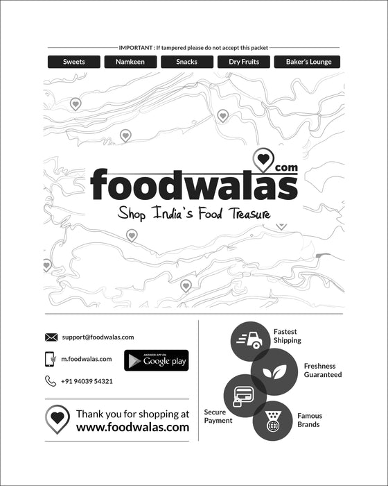 Foodwalas - Packaging Material - Corrugated Box