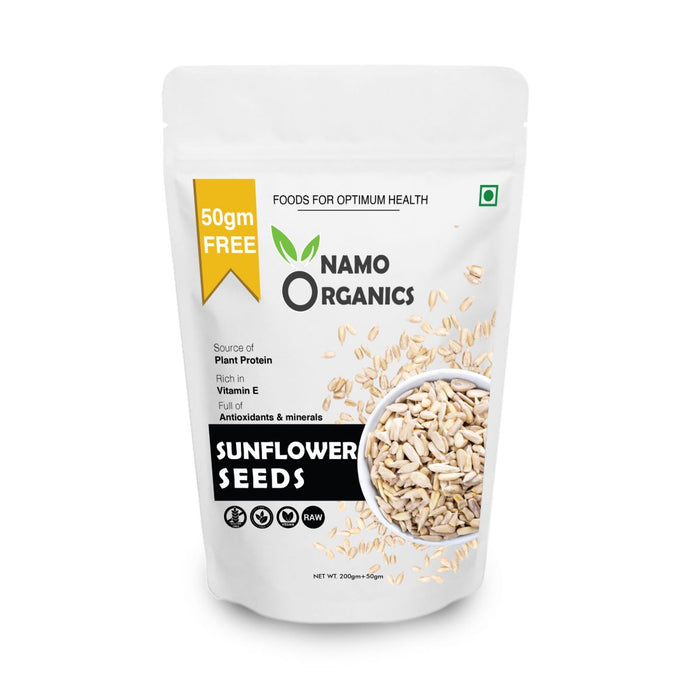 Namo Organics Sunflower Seeds for Heart health