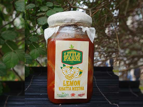 Lemon Khatta Meetha Pickle