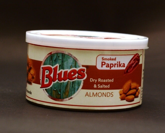 Dry Roasted Salted Almonds - Smoked Paprika