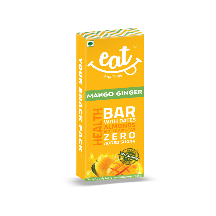 Mango Ginger Bars - Pack of 6, 228 g