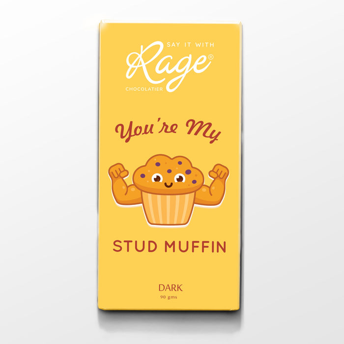 Rage You're my Stud Muffin - Dark Chocolate