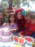 Mermaid Ariel Party Brisbane