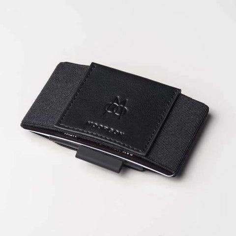 Cartera Minimalista Total Black