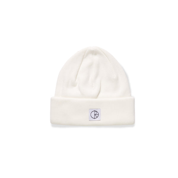 Double Fold Cotton Beanie - Ivory