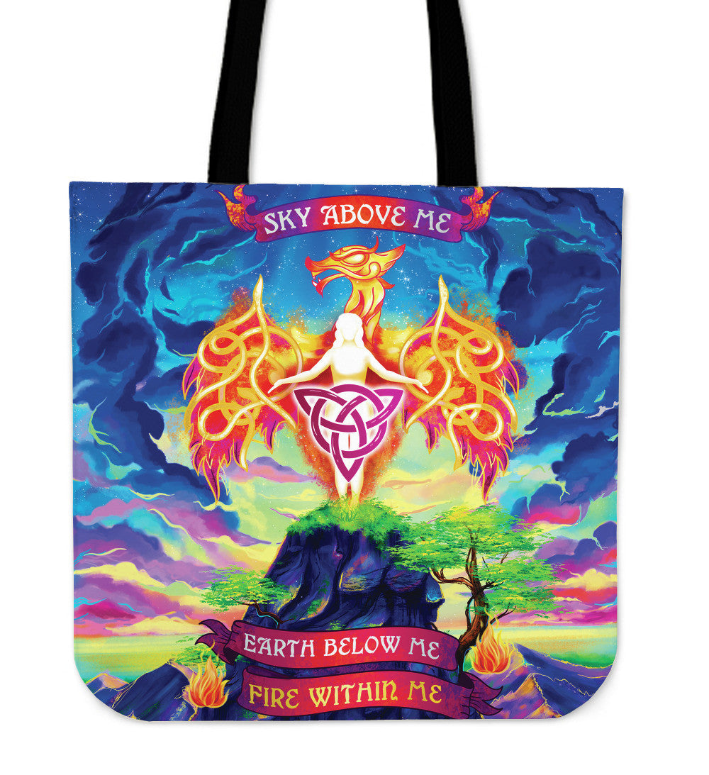 Fire Within Me Tote