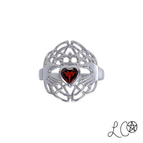 Laurie Cabot Celtic Claddagh Love Spell Ring