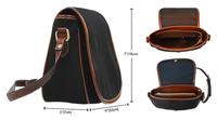 As Above So Below Saddle Bag