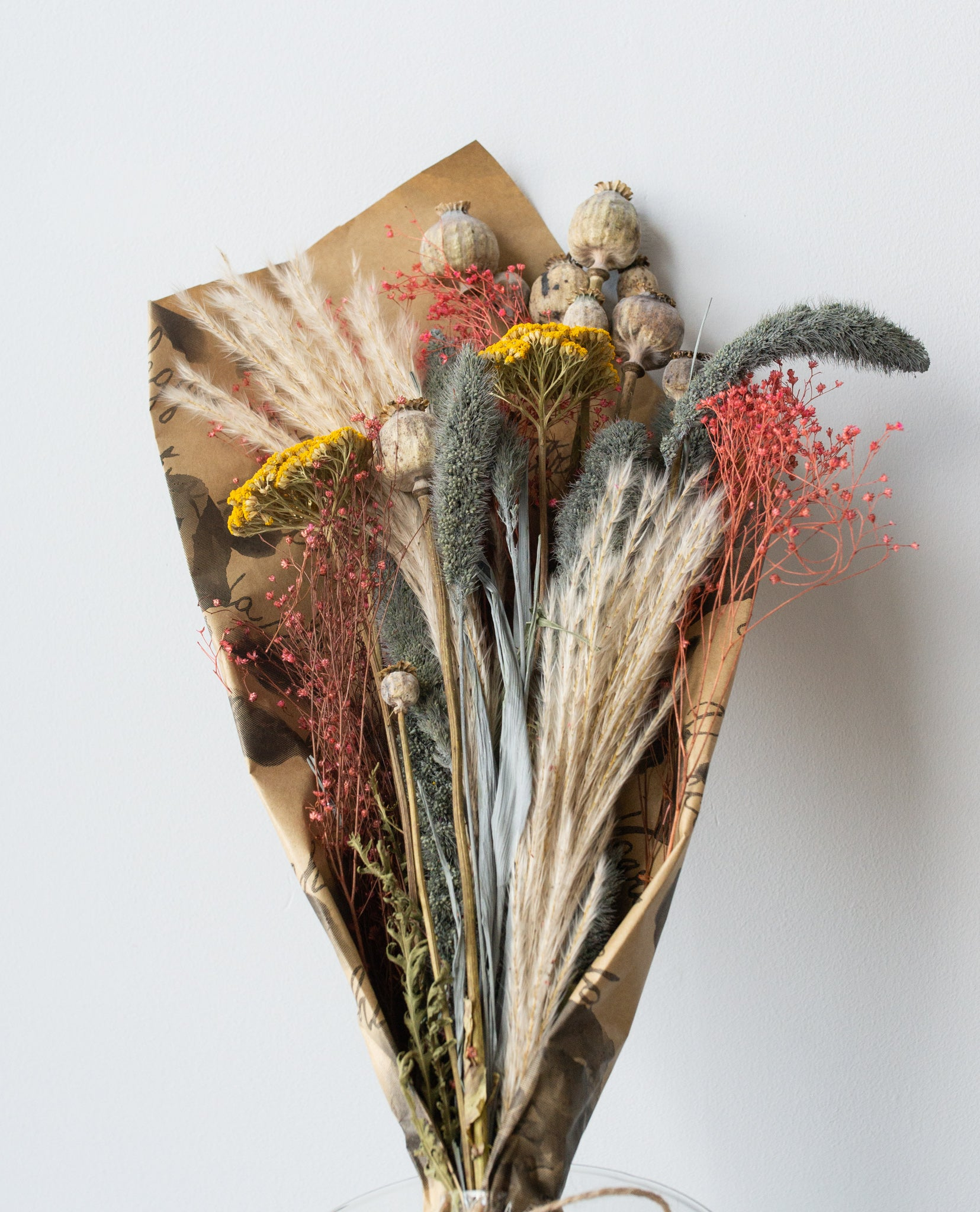 Exotic Variety Dried Flower Arrangement
