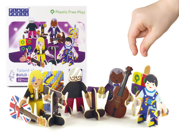 PlayPress Performers Build & Play Set