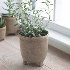 Positano Plant Pot in Stone