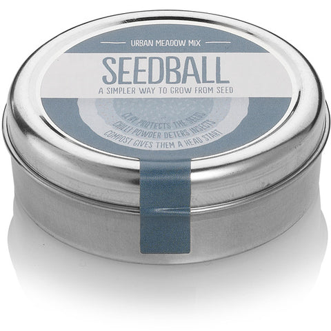 Seedball Urban Meadow Mix Tin