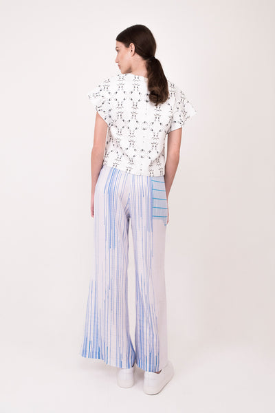 1_TIFF. Blouse° in Electric star print